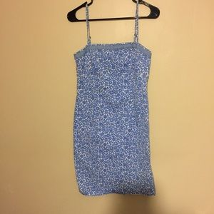Tommy Hilfiger white and blue dress